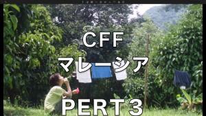 3.CFFのマレーシア。熱帯の豊かな森の中で、持続可能な環境を体験するワーク。